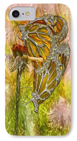 Iron Butterflys Phone Case by Jack Zulli