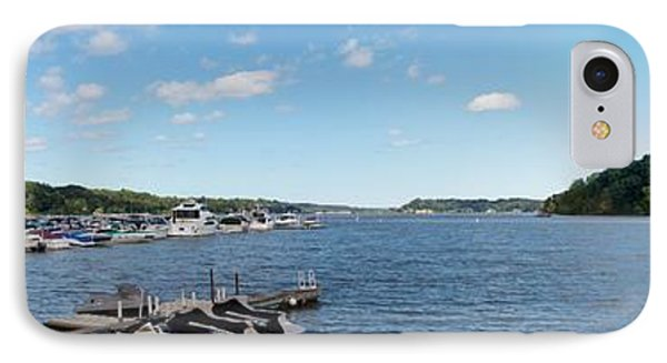 IPhone Case featuring the photograph Irondequoit Bay Panorama by William Norton