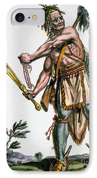 Iroquois Warrior Phone Case by Granger