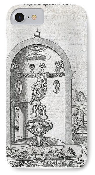 Irrigation System, 16th Century Artwork Phone Case by Middle Temple Library