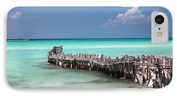Isla Mujeres IPhone Case by Milena Boeva