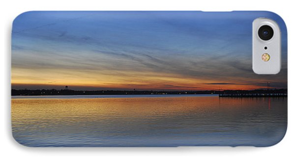 Island Heights At Dusk Phone Case by Terry DeLuco