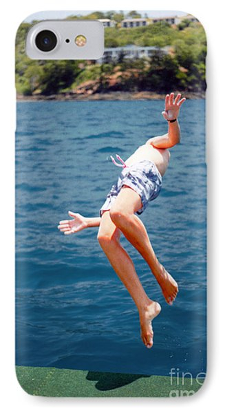 IPhone Case featuring the photograph Island Hopping Boy by Vicki Ferrari