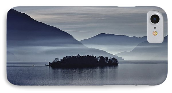 Island In Morning Mist IPhone Case by Joana Kruse
