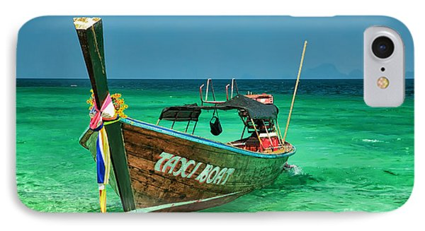 Island Taxi  Phone Case by Adrian Evans