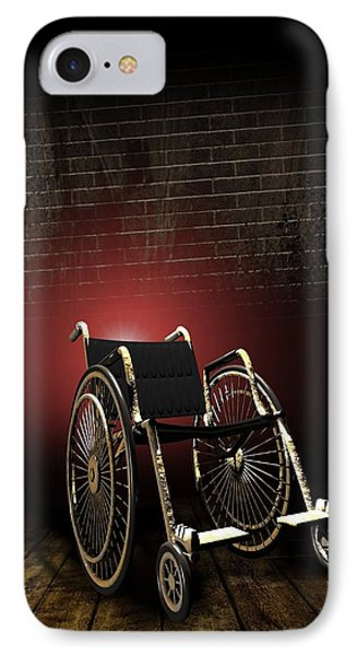 Isolation Through Disability, Artwork Phone Case by Victor Habbick Visions