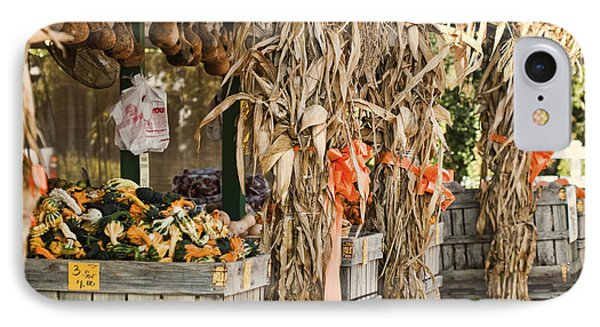 Isoms Orchard In Fall Regalia Phone Case by Kathy Clark
