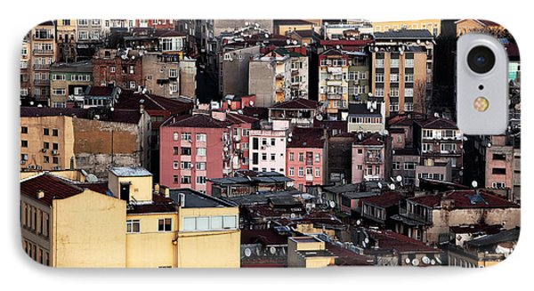 Istanbul Cityscape Vii Phone Case by John Rizzuto