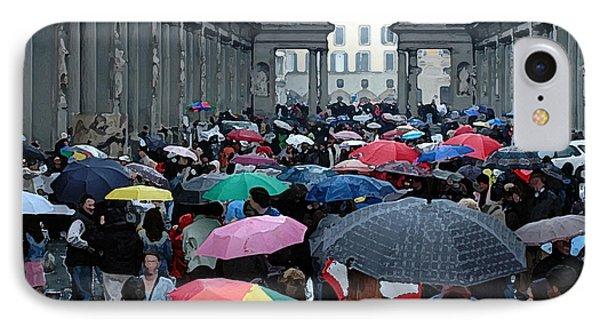 It Rains IPhone Case by Vivian Christopher