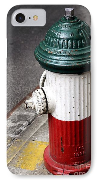 Italian Fire Hydrant IPhone 7 Case by Sophie Vigneault