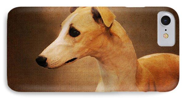 Italian Greyhound Phone Case by Jai Johnson