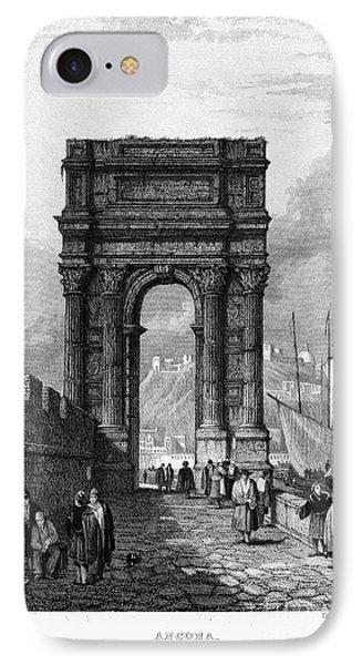Italy: Ancona, 1833 Phone Case by Granger