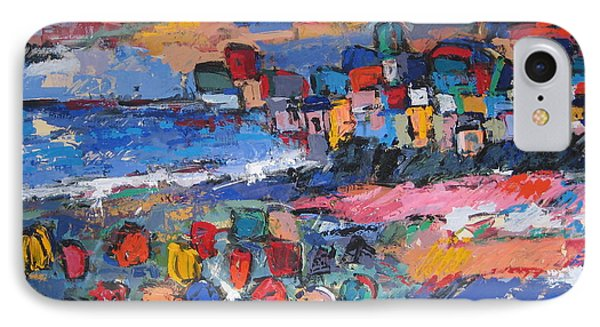 Italy With Flowers IPhone Case