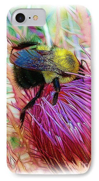 I've Fallen Into A Thistle And I Can't Get Out Phone Case by Judi Bagwell
