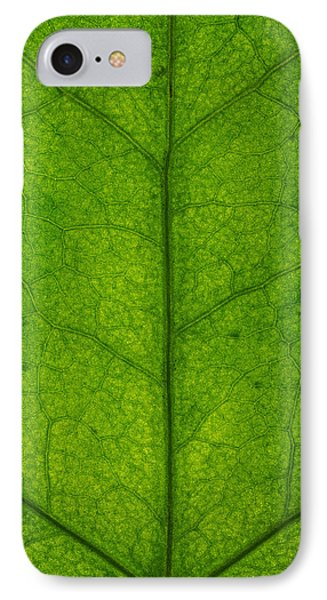 Ivy Leaf Phone Case by Steve Gadomski