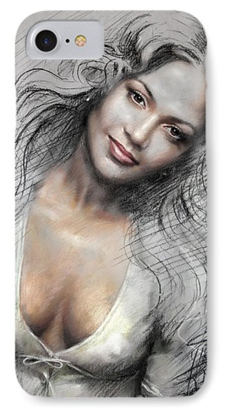 J L0 IPhone Case by Ylli Haruni