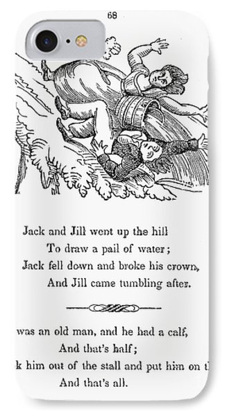 Jack And Jill, 1833 IPhone Case by Granger