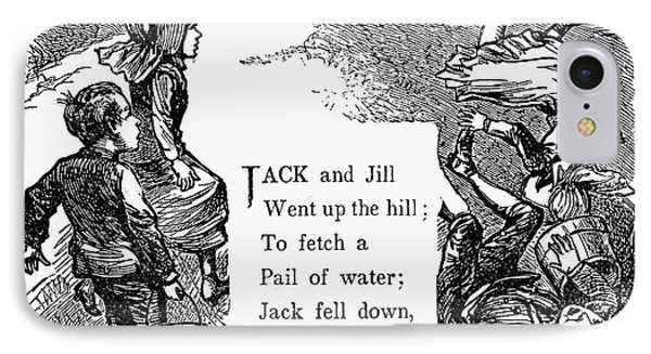 Jack And Jill Phone Case by Granger
