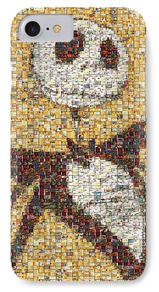 Jack Halloween Mosaic Phone Case by Paul Van Scott