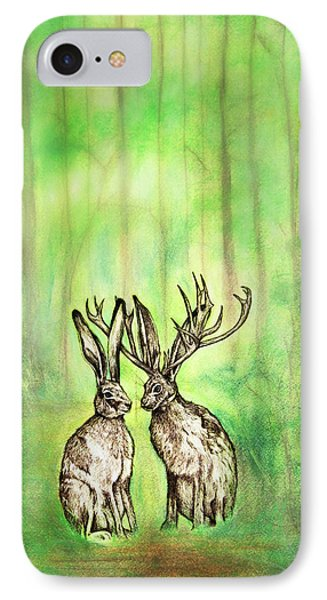 Into The Woods Phone Case by Carrie Jackson