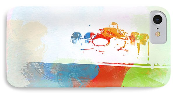 Jackie Stewart IPhone Case by Naxart Studio