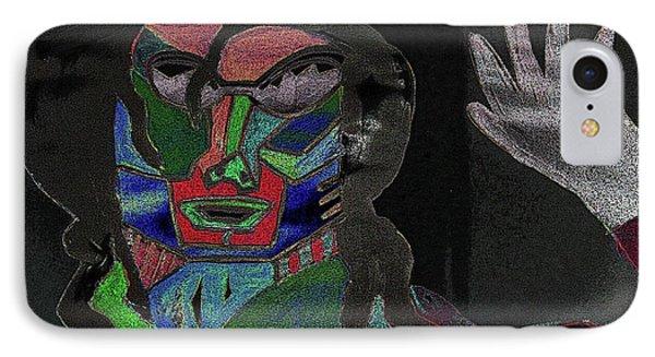 Jacko Phone Case by Karen Elzinga