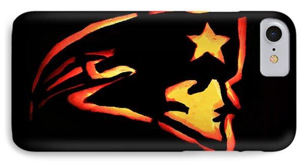 Jacko Lantern Patriots IPhone Case