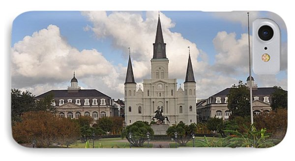 Jackson Square New Orleans Phone Case by Bill Cannon