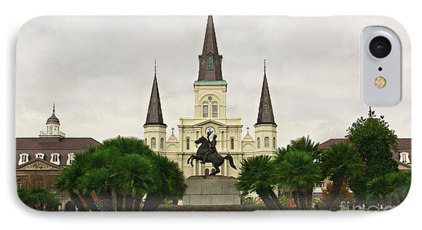 Jackson Square Phone Case by Perry Webster