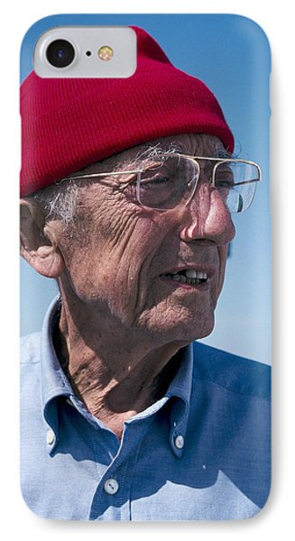 Jacques-yves Cousteau, French Diver Phone Case by Alexis Rosenfeld