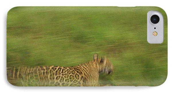 Jaguar Panthera Onca Running Phone Case by Claus Meyer