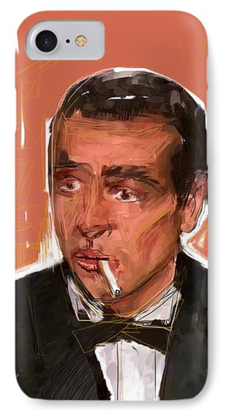 James Bond Phone Case by Russell Pierce