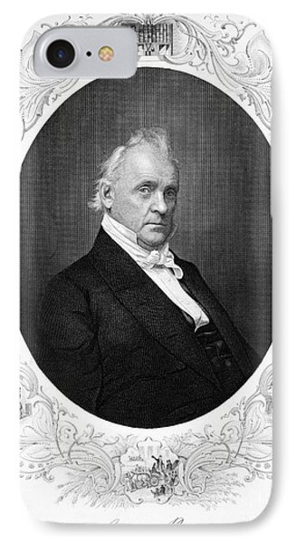 James Buchanan (1791-1968) Phone Case by Granger