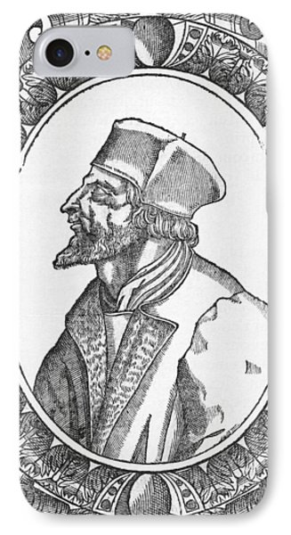 Jan Hus, Czech Religious Reformer Phone Case by Middle Temple Library