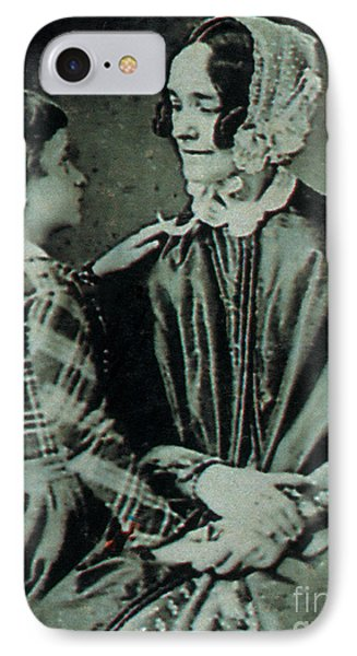 Jane Pierce IPhone Case by Photo Researchers