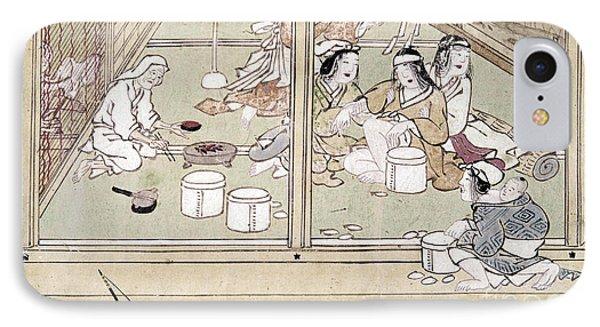Japan: Childbirth, 1329 IPhone Case by Granger