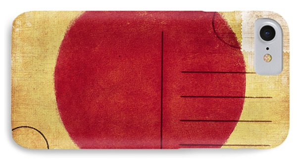 Japan Flag Postcard Phone Case by Setsiri Silapasuwanchai