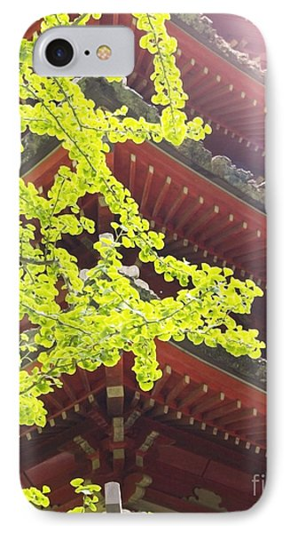 Japanese Tea Garden IPhone Case by Cindy Garber Iverson