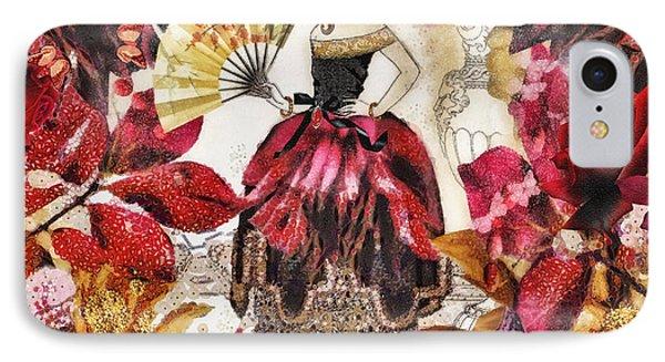 Jardin Des Papillons Phone Case by Mo T