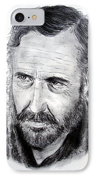 Jason Robards IPhone Case by Jim Fitzpatrick