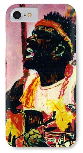 Jazz Musician IPhone Case