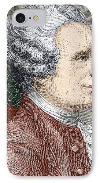 Jean D'alembert, French Mathematician Phone Case by Sheila Terry