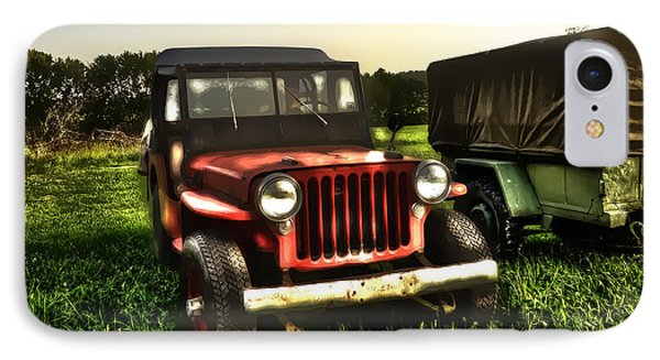 Jeep Seen Better Days Phone Case by Dan Friend