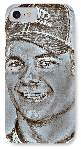 Jeff Gordon In 2010 Phone Case by J McCombie