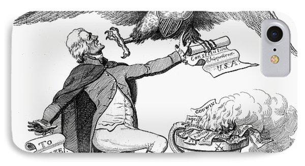 Jefferson: Cartoon, 1800 Phone Case by Granger