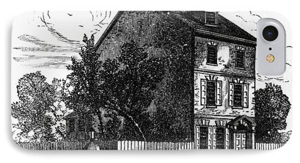 Jeffersons House, 1776 Phone Case by Granger
