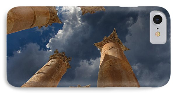 IPhone Case featuring the photograph Jerash by David Gleeson