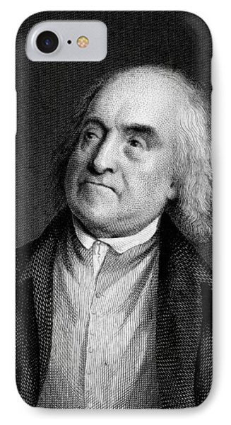 Jeremy Bentham, English Social Reformer Phone Case by Middle Temple Library
