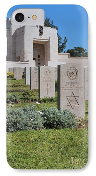 Jerusalem British War Cemetery IPhone Case