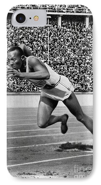 Jesse Owens (1913-1980) Phone Case by Granger